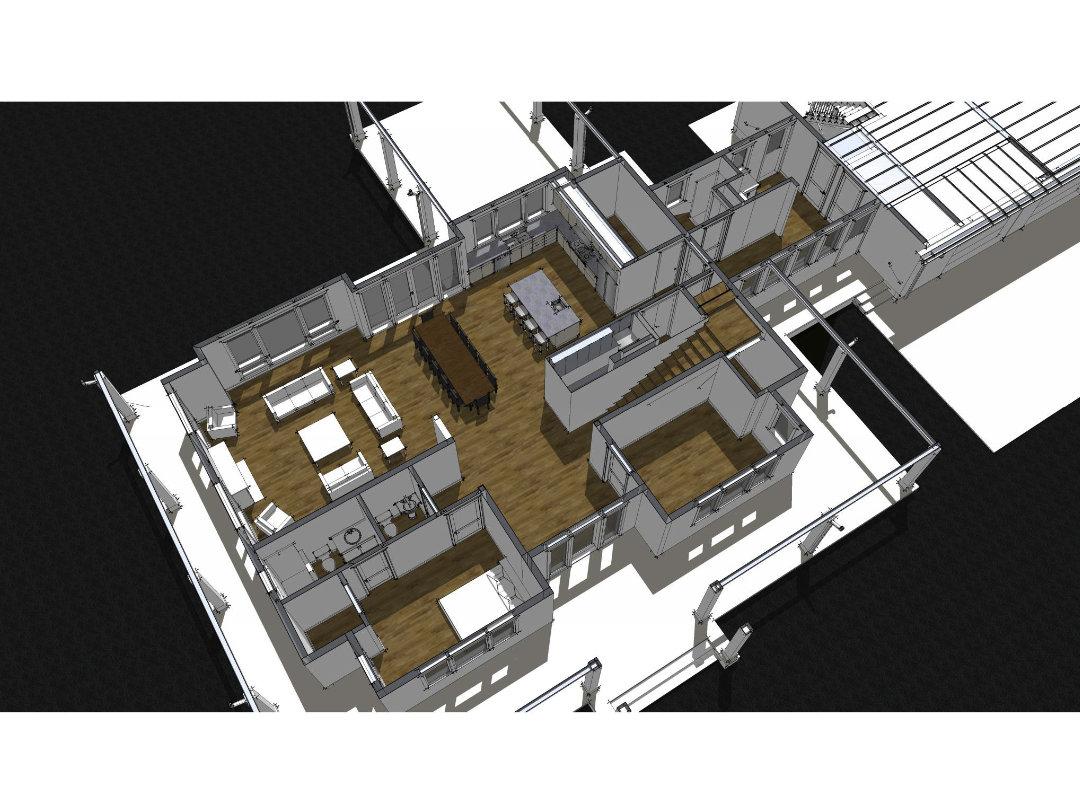 Sandy Oregon Residence - Moore Architecture + Design