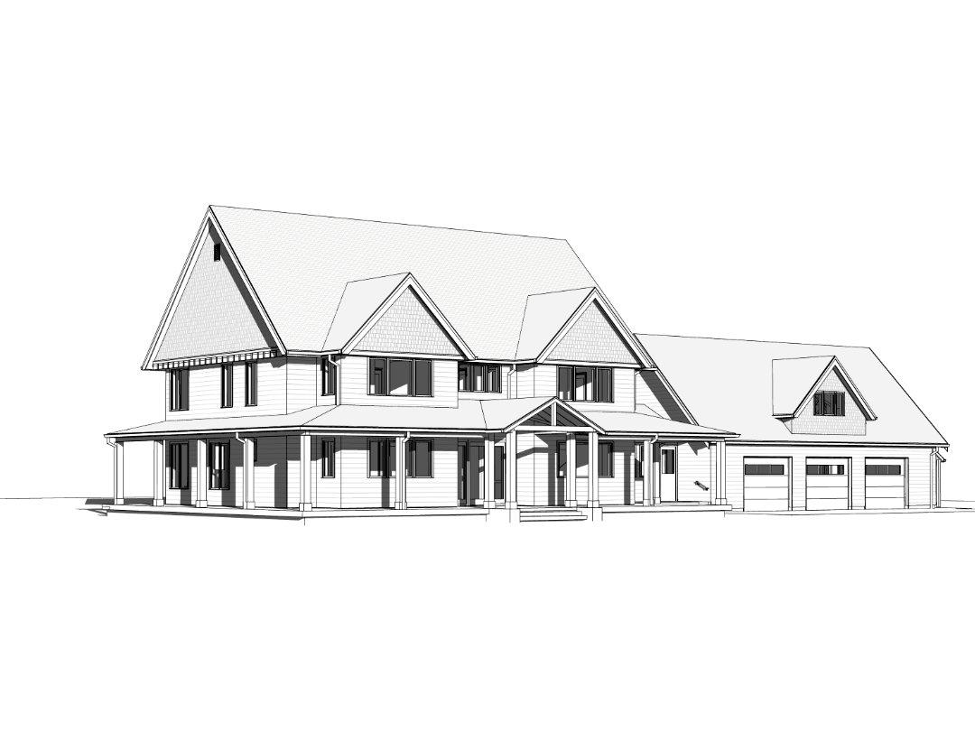Sandy Oregon Residence- Moore Architecture + Design